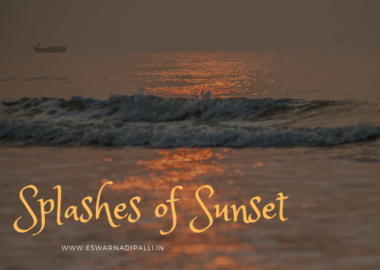 Splashes of sunset